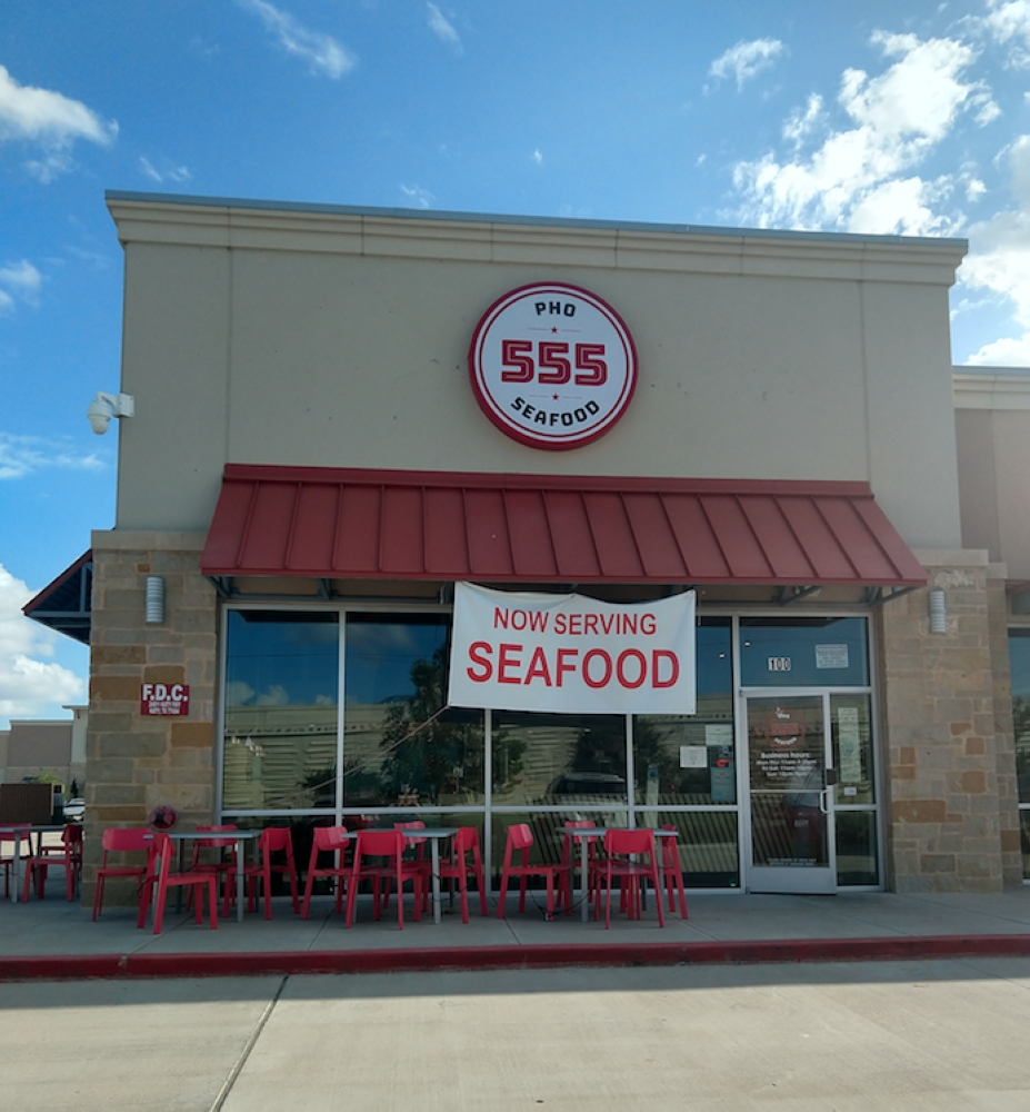 555 Pho & Seafood closed in late 2019. (Susan Rovegno/Community Impact Newspaper)