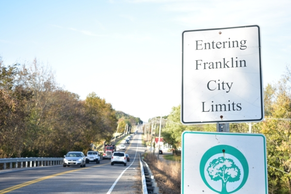 More than 400 acres of new land were annexed into the city of Franklin on Nov. 7 following a referendum approved by homeowners Oct. 22. Alex Hosey/Community Impact Newspaper