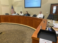 Lakeway City Council met for a special meeting Jan. 13. (Brian Rash/Community Impact Newspaper)