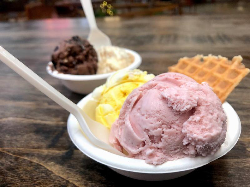 Ohio-based Jeni's Splendid Ice Creams opened its location in Domain Northside. (Courtesy Jeni's Splendid Ice Creams)
