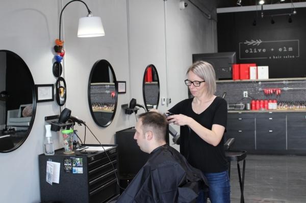 Ambia Elms, Olive + Elm Salon