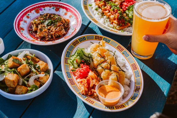 Asian-fusion eatery East Side King will open a location in Northwest Austin on Jan. 29. (Courtesy East Side King)
