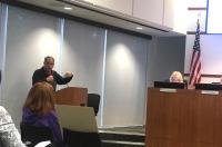 wayne gardiner woodlands township board of directors meeting january 15 2020