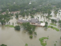 Raveneaux Country Club was one of hundreds of properties that flooded during Hurricane Harvey in 2017. (Courtesy Harris County Flood Control District)