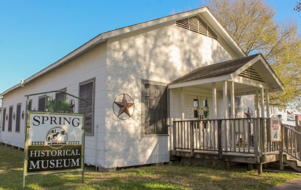The Spring Historical Museum is located at 403 Main St., Spring. (Hannah Zedaker/Community Impact Newspaper)