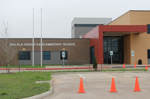 Fort Bend ISD's Malala Elementary School is located at 11770 W. Aliana Trace Drive in Richmond. (Claire Shoop/Community Impact Newspaper)