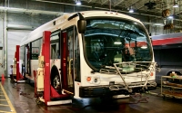 The first two Proterra electric buses arrived in Austin, and Capital Metro will roll them out in late January. (Courtesy Capital Metro)