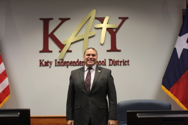 Katy ISD Superintendent Ken Gregorski received a $24,000 increase to his annual base salary. (Jen Para/Community Impact Newspaper)
