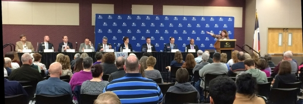 A forum takes place for 2018 primary candidates. This year's forum is open to the public and includes races that affect Collin County at the regional, state and national level in the March 3 primary election. (Courtesy League of Women Voters of Collin County)