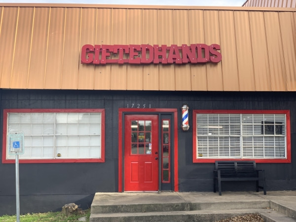Gifted Hands Barbershop opened in Round Rock on Jan. 1. (Courtesy Lonnie Johnson)