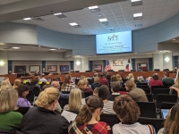 The Katy ISD board of trustees approved a construction contract for Junior High School No. 17, which will be located near he intersection of Katy Hockley Road and Clay Road within the city of Katy. (Jen Para/Community Impact Newspaper)