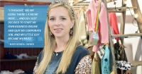 Mary Bowen started Hipster Baby as an online boutique in 2013. (Makenzie Plusnick/Community Impact Newspaper)