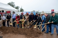 The city of San Marcos broke ground Jan. 17 on a new Fire Station No. 2. (Courtesy city of San Marcos)