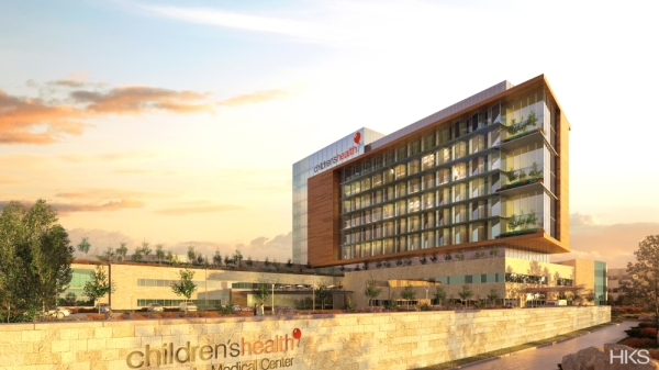 Children's Health on Jan. 23 announced it plans to construct a new, seven-story hospital tower by 2023, nearly doubling its facilities in Plano. (Rendering courtesy Children's Health)