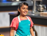 "Sahana Gade, a sixth-grade Fort Bend ISD student, appeared on season 8 of ""Kids Baking Championship."" (Courtesy Sudhaa Gade/Food Network Channel)"