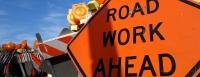 fotolia stock image road work ahead sign