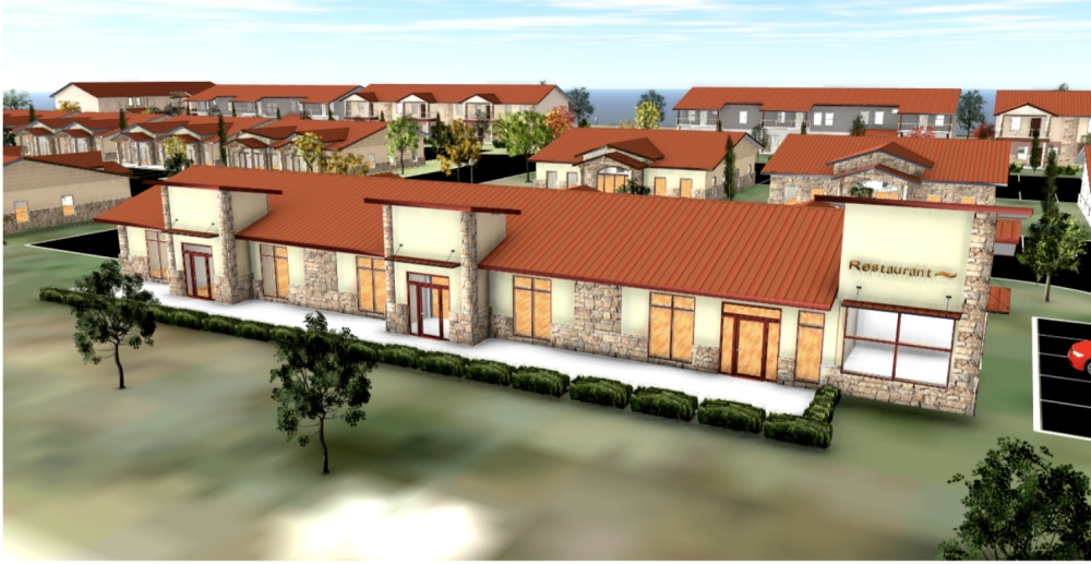(Rendering courtesy Frances Crossley/KW Commercial)