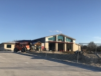 Pflugerville's fifth fire station is expected to open in late February, weather permitting. (Kelsey Thompson/Community Impact Newspaper)