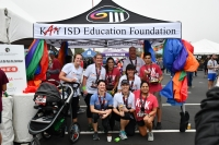 On Feb. 8, the Katy ISD Education Foundation hosts Reason2Race, a running event at the Katy Half Marathon to raise money for teachers and classrooms. (Courtesy Katy ISD Education Foundation)