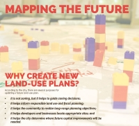 At an event, Georgetown staff asked officials and residents to use Legos to chart where they envisioned growth. (Courtesy city of Georgetown)