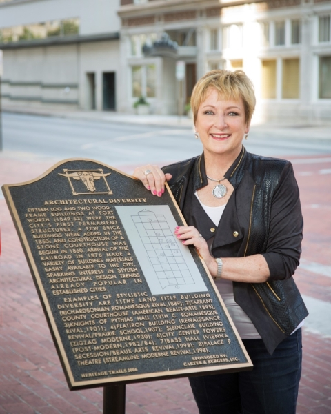 Marilyn Gilbert, Fort Worth Chamber of Commerce vice president, will retire in April after 30 years with the chamber. (Courtesy Fort Worth Chamber of Commerce)