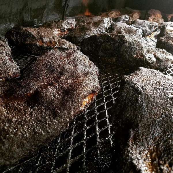Smiley's Craft Barbecue in Roanoke began serving customers Jan. 17. (Courtesy Smiley's)