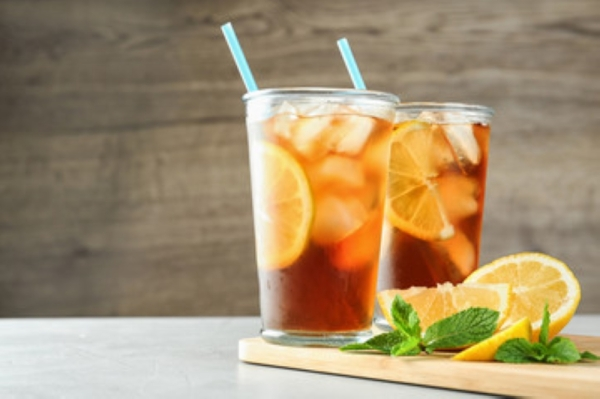 iced tea in glasses adobe stock image