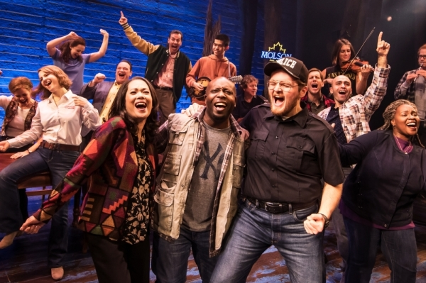 """Come From Away."" Photo courtesy Matthew Murphy"
