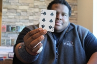 We're entertainers at heart. We want to wow the audience. We're looking for the wildest reaction. –Sean Tyler, owner of The Magic Box. (Renee Yan/Community Impact Newspaper)