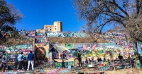 Austin's 'Graffiti Park' was a popular community asset until its closure in 2018. (Christopher Neely/Community Impact Newspaper)