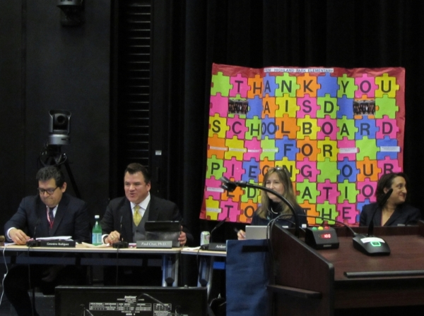 Austin ISD trustees met Jan. 27 and approved the district's 2020-21 school year calendar. (Niicholas Cicale/Community Impact Newspaper)