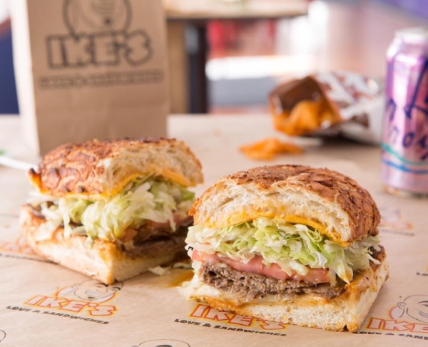 Ike's opened a location in San Marcos. (Courtesy Ike's Love & Sandwiches)