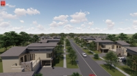 The approved rezoning request changed the land's zoning from agriculture, urban and urban center to a planned unite development, or PUD. (Rendering courtesy city of Pflugerville)