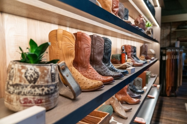 Tecovas offers a range of handmade men's and women's boots alongside other clothing and accessories. (Courtesy Tecovas)