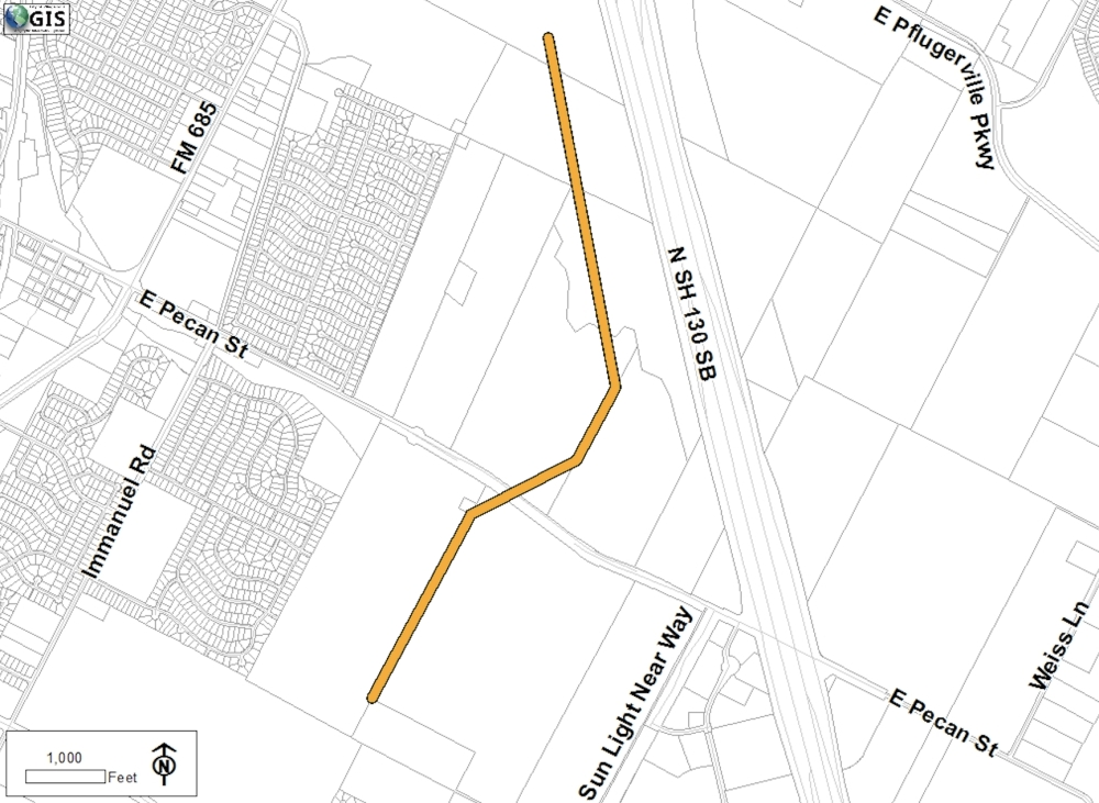 Pflugerville City Council awarded a nearly $13 million construction bid to S. J. Louis Construction of Texas, Ltd. for Phase 1 of the city's West SH 130 interceptor project, including the installation of 16,000 feet of sanitary sewer pipeline. (Courtesy city of Pflugerville)