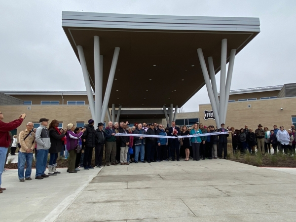 The Grove at Frisco Commons grand opening took place Jan. 29. (Elizabeth Ucles/Community Impact Newspaper)