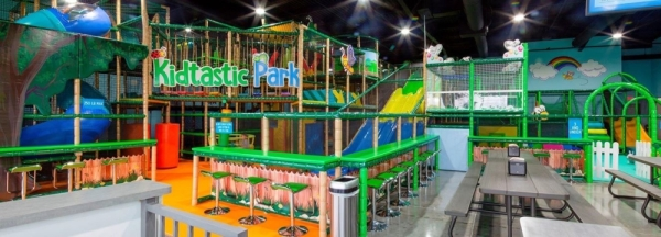 The facility offers birthday parties and general play for children up to age 12. (Courtesy Kidtastic Park)