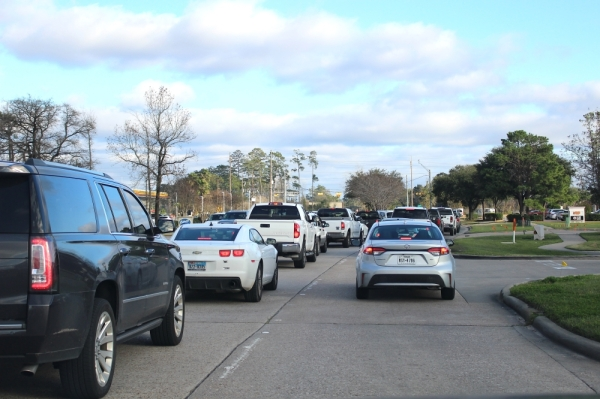 The Texas Transportation Institute's 2019 report ranked Northpark Drive the most congested road in the Lake Houston area. (Kelly Schafler/Community Impact Newspaper)