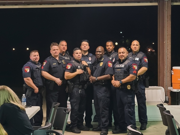 Montgomery Police Department officers will teach classes on the nature of police work. (Courtesy Kristen Goode/City of Montgomery)