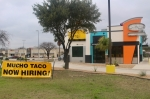 The restaurant will be located at 1109 N. I-35, San Marcos. (Evelin Garcia/Community Impact Newspaper)