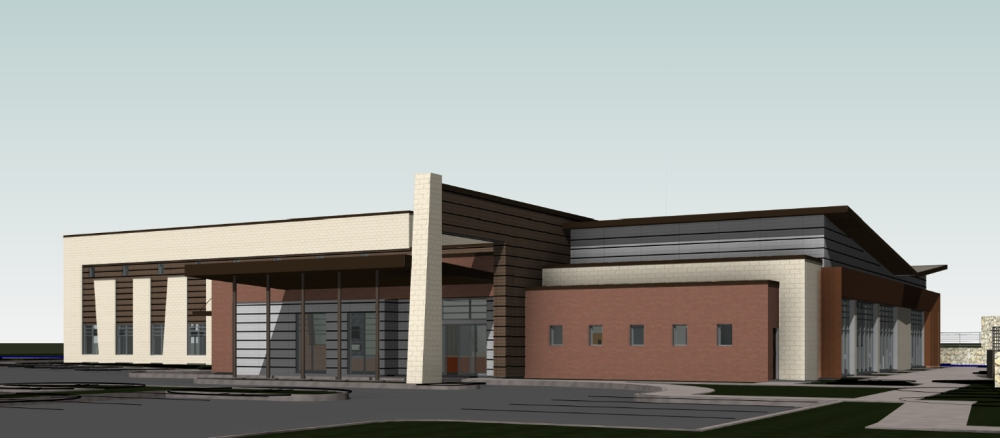 Keller City Council unveiled Jan. 27 plans for a new Senior Activities Center, first approved by voters in Nov. 2018. (Courtesy city of Keller)