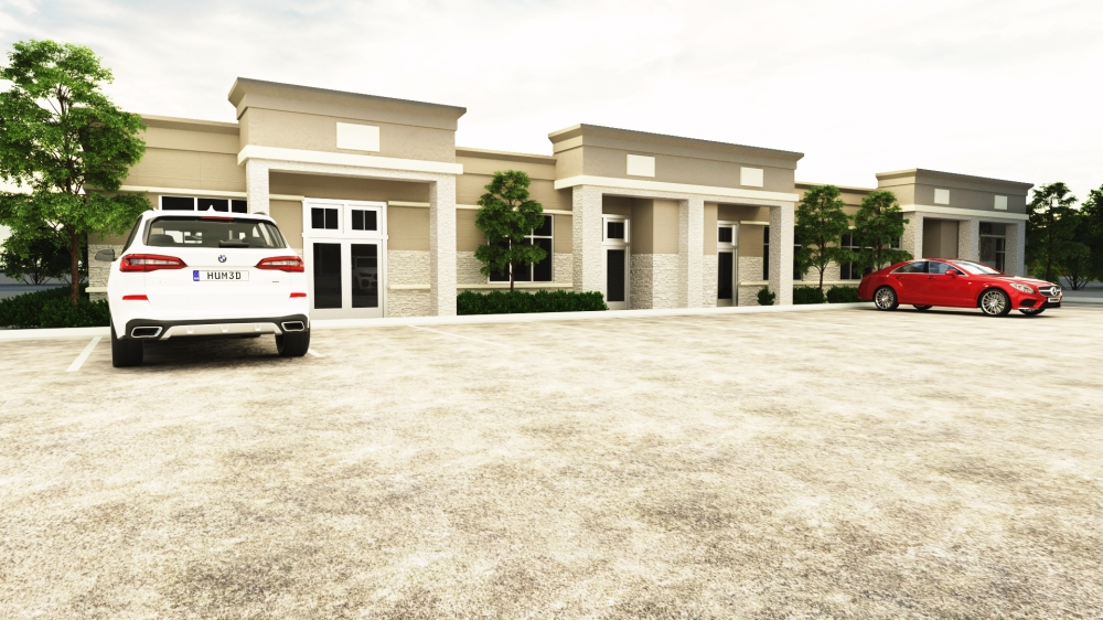 McCaleb Creek Professional Plaza will add 22 offices to the Lake Conroe area. (Courtesy Gicor Inc. Builders)