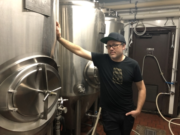 Draught House brewer and operator Josh Wilson has been working at the brewpub since 1995. Jack Flagler/Community Impact Newspaper