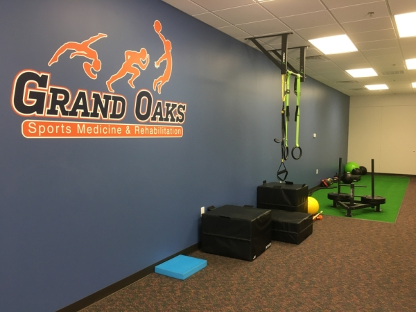 The new clinic opened in Spring last fall. (Courtesy Grand Oaks Sports Medicine and Rehabilitation)