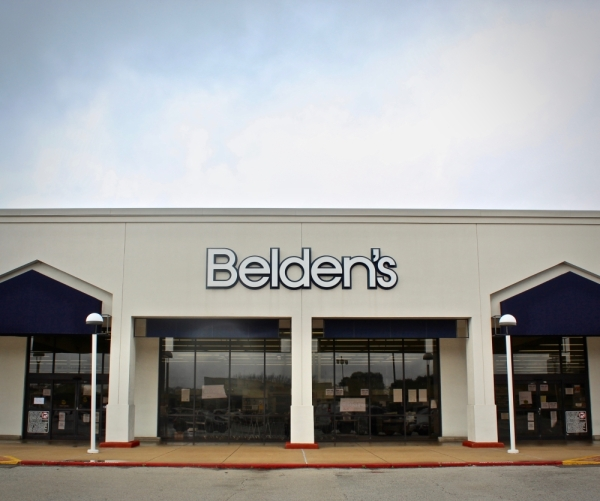 A neighborhood grocery store for 40 years, Belden's closed in January. Its owners cited declining business following repeated floods in the area. (Matt Dulin/Community Impact Newspaper)