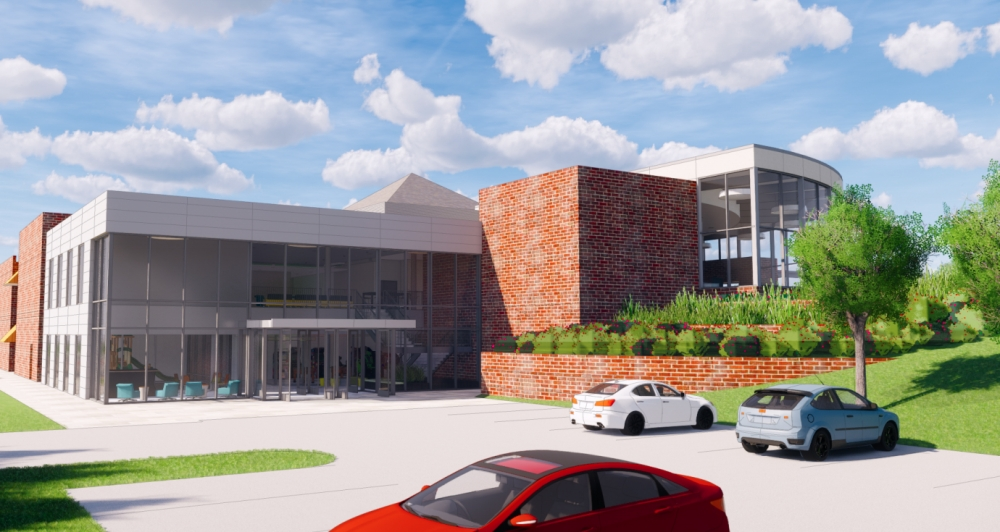 A proposed renovation project for The Hills Church has been given the green light. (Rendering courtesy city of Southlake)