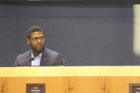 Assistant City Manager Christopher Shorter said an internal work group is forming so service providers, public safety officials and city departments can exchange information and strategies to address Austin's homelessness challenges. (Christopher Neely/Community Impact Newspaper)