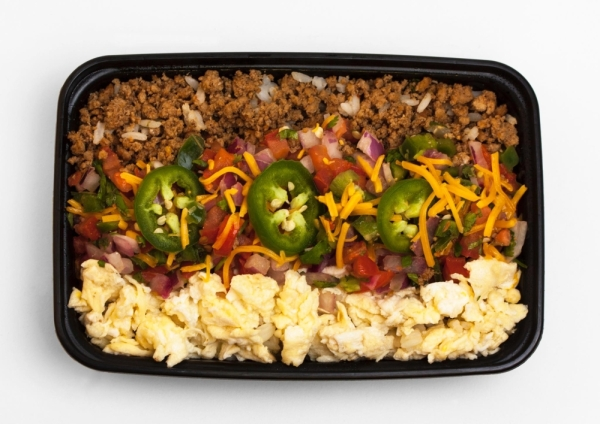 Healthy versions of comfort food meals are prepared fresh from scratch, offering variety and convenience to customers. (Courtesy My Protein Grill)