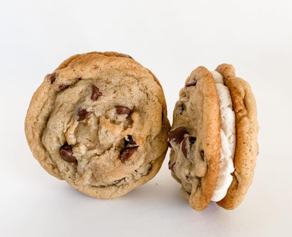Two cookie sandwiches made by Double Dough Cookies (Courtesy Meghan McLeod/Double Dough Cookies)