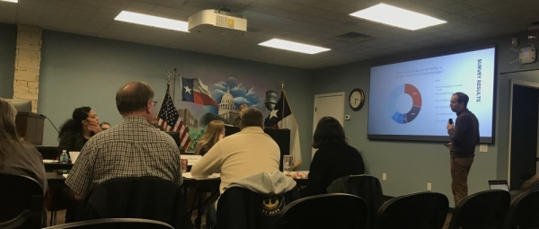 The Pflugerville Citizens Bond Committee finalized its list of project proposals for council consideration at its Feb. 5 meeting. (Kelsey Thompson/Community Impact Newspaper)